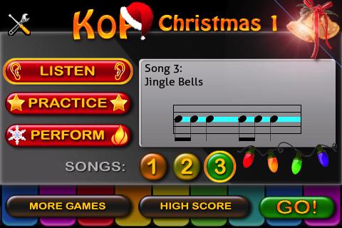 King of piano Christmas